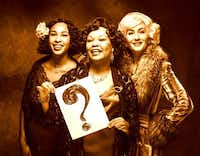 From left: Raven Garcia, Yolonda Williams and  Lee Jamison star in the show.Mike Morgan