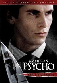 DVD cover of American Psycho