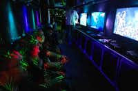 The International Game Developer Association of Dallas sponsored a video game truck at last year's Big (D)esign Conference.( Jeremy Johnson )