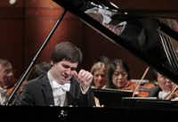 Kholodenko performed a concerto with the Fort Worth Symphony Orchestra during finals of the 2013 Van Cliburn piano competition in Fort Worth. (File Photo/Fort Worth Star-Telegram)