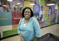 Velma Mitchell, director of Turner Courts Multipurpose Center and co-founder of the H.I.S. BridgeBuilders nonprofit, has been working to improve the neighborhood for two decades.
