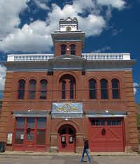 """The City Hall in Victor dates to 1900, seven years after the city's establishment. In its heyday, Victor's 18,000 residents made it Colorado's fourth-largest city. Its slogan today: """"The Whole Town Is a Museum.""""Photos by John H. Ostdick  -  Special Contributor"""