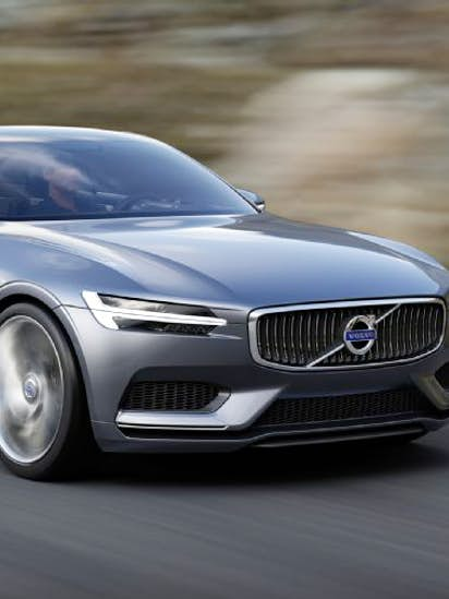 Striking Volvo Concept Coupe Hints At Future Design Of