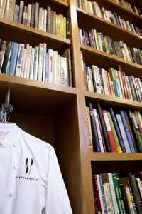 Chef Stephan Pyles' personal cookbook collection