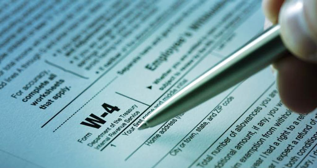 How To Fill Out Your W 4 Form Properly Money Dallas News