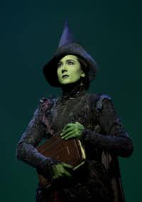 "Dee Roscioli will portray Elphaba in ""Wicked"" at the Dallas Summer Musicals beginning April 10."