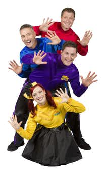 The Wiggles, a children's entertainment group from Australia, will be at the Verizon Theatre in Grand Prairie Sept. 14, 2013.