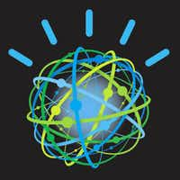 The avatar for the Watson supercomputer.