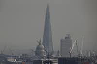 The Shard rises above St. Paul's Cathedral in this April photo. The building was designed by Italian architect Renzo Piano, who also designed the namesake pavilion at the Kimbell Art Museum in Fort Worth.Dan Kitwood  -  Getty Images