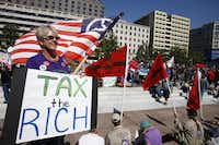 Most voters were wary of raising taxes to lower deficits. But nearly half favored increases for high earners.