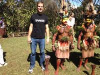 Wolfgang Schroen said he was fascinated by places such as Tari, Papua New Guinea.(Photo submitted by WOLFGANG SCHROEN)