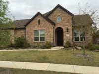 The Woo family's home in Frisco (Sarah Mervosh/Staff Writer)
