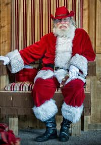 This cowboy Santa is a popular attraction at Fort Worth s Christmas in the Stockyards, along with chicken roping, a big parade and much more.( Fort Worth Stockyards  -  Fort Worth Stockyards )