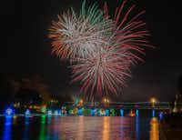 The Christmas Festival of Lights turns the banks of the Cane River into a brilliant tribute to the season.(Karen Hoyt - Karen Hoyt)