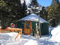 Go glamping   in Jackson Hole's Rock Spring Yurt.(Courtesy Jackson Hole - Jackson Hole)