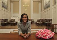Yvette Blair Lavallais, who was once in communications and public relations, is now a seminarian at Perkins School of Theology at SMU.