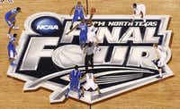 Kentucky and Connecticut battled in Monday night's NCAA basketball championship game at AT&T Stadium in Arlington. The facility also will host the Academy of Country Music Awards next year.Tom Fox - Staff Photographer