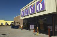 Alco, which has 35 Texas stores, including this one in Pilot Point, is moving its corporate headquarters from Abilene, Kan., to Coppell in June to gain access to a larger labor pool.