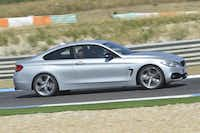 The 2014 428 sits a whopping 2 inches lower than the 3, according to BMW, which combined with the optional wheels gives the 4 great stance and presence.BMW
