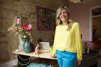 Conni Reed, Consuela's founder and CEO, teamed up with a furniture designer and a graffiti artist to create her dream design studio, office space and small storefront in downtown Austin.