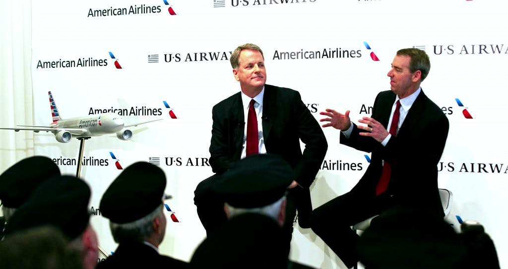 us airways and american airlines ceos see few job cuts airlines dallas news