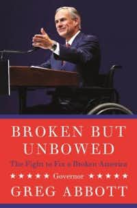 Greg Abbott's first book is set for release May 17.