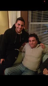 Alex Kaftajian (left) Sam Kaftajian (right)