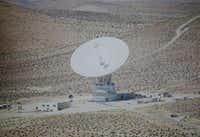 Roberts, who worked for Collins Radio, developed an antenna system at Goldstone Deep Space Communications Complex in California that made the landing possible.