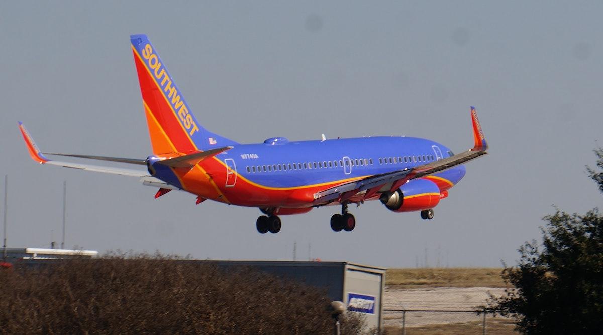 Southwest Airlines Flight Makes Emergency Landing At