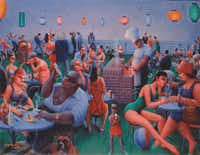 """""""Barbecue,"""" 1960(Chicago History Museum - Image copyright Valerie Gerrard Browne)"""