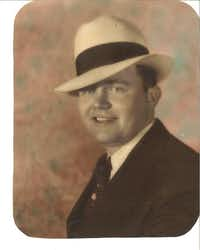 Benny Binion was an up-and-coming Dallas racketeer.Doug Swanson - Doug Swanson