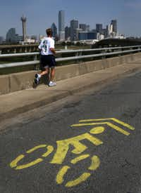 The city is developing a bicycle-passing ordinance that outlines the interaction between drivers and bicyclists.