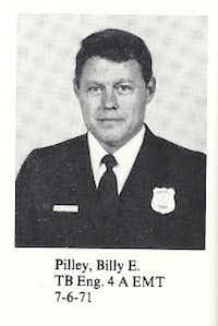 Firefighter Billy Pilley. (Irving Fire Department Facebook)