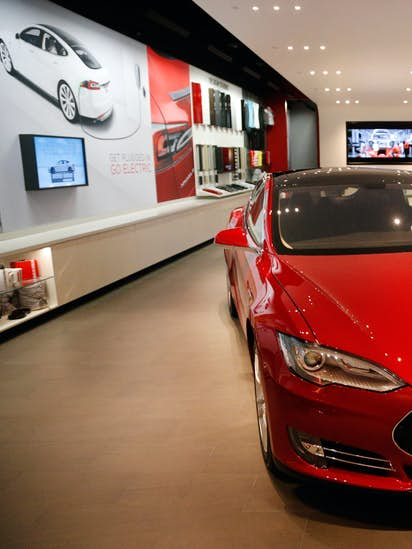 bill to let tesla sell cars in texas may go nowhere local politics