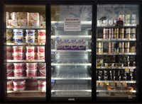All Blue Bell ice cream products were pulled from the freezers at Kroger in Dallas, Tuesday, April 20, 2015. (Tom Fox/The Dallas Morning News)(Tom Fox)