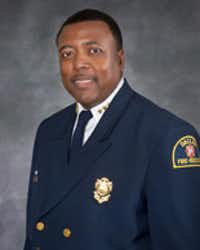 City officials are looking to replace this guy,Dallas Fire-Rescue Chief Louie Bright