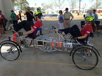 Parish Episcopal School students Byron Hameline and Sophie Alford compete in the NASA Human Exploration Rover Challenge.Photos submitted by JENN MAKINS