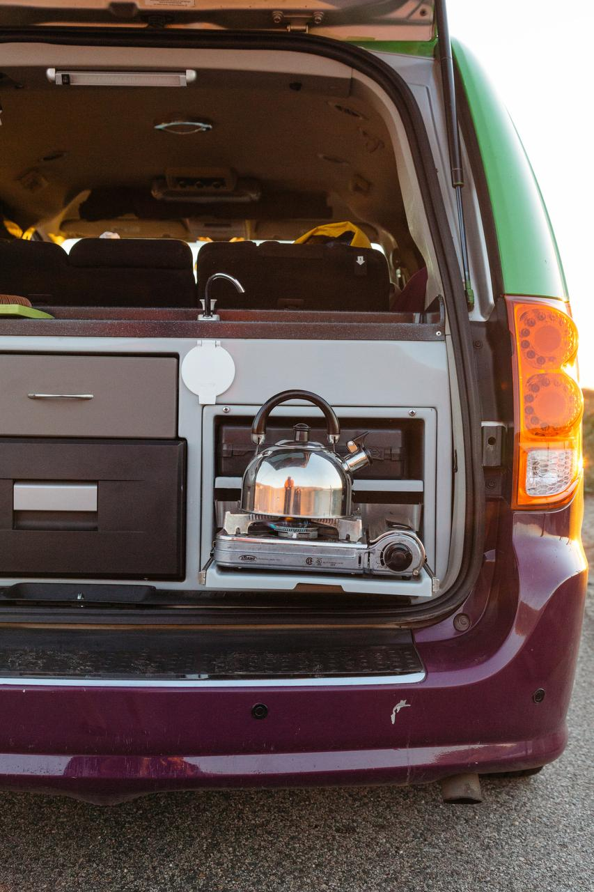 On The Road These Minivans Turned RVs Take Car Camping To Next Level