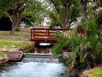 After a swim, settle in for a picnic next to Balmorhea State Park's trickling canals.Texas Parks and Wildlife Department