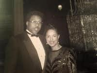Dwaine Caraway and his wife, Barbara Mallory Caraway, shown here in an undated family photo, met in college in 1974. They married in 1994 after he helped her unseat an incumbent Dallas City Council member. Over the years, both won and lost several elections. Both lost badly in the March 2016 primary, but today they vow to keep trying to return to public office.(Courtesy -  Barbara Mallory Caraway )