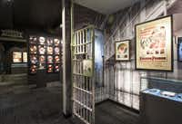 The Folsom Prison section of the Johnny Cash Museum in Nashville, TN.