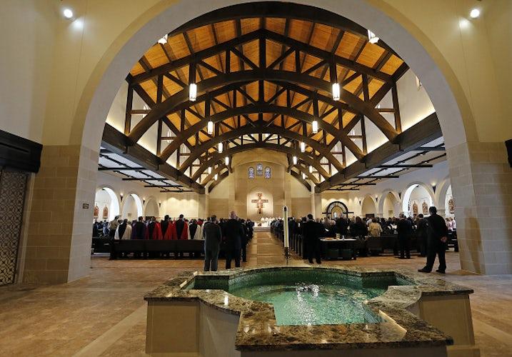 St Francis Frisco >> Frisco church dedicates new building, chapel | Dallas News | Photos | Dallas News