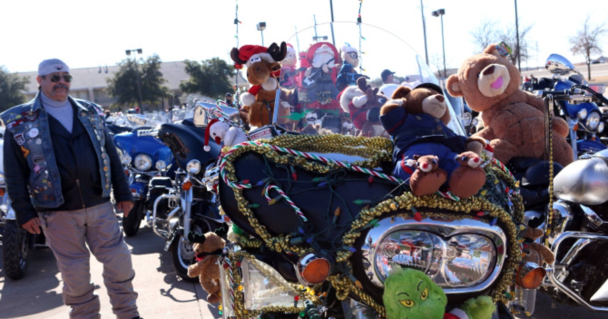 Toys For Tots Motorcycle Run : Dfw toys for tots motorcycle run dallas news photos