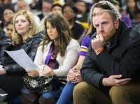 People listen during a community meeting led by Dallas ISD trustee Joyce Foreman on Friday, January 22, 2016 at Paradise Missionary Baptist Church in Dallas. The meeting was called to discuss a proposed Uplift Education charter school in Foreman'ssouthwest Dallas area. (Ashley Landis/The Dallas Morning News)