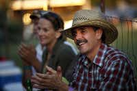Gary Boland, from Ft. Smith, AR, enjoys Keb' Mo's show during the Cherokee Creek Music Festival in Cherokee, TX on May 14, 2011 This fifth annual festival is to benefit children's medical charities in Dallas. ( Kye R. Lee / The Dallas Morning News )