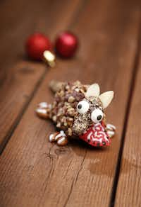 Winner, Decorated category: Nutty Mocha-Coca Macadillos by Dianne Ragain