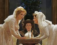 "__ Caption: (L to R) Rachel Willis-S¿rensen as Fiordiligi, Jennifer Aylmer as Despina, and Kathryn Leemhuis as Dorabella in Opera Theatre of Saint LouisÕs 2012 production of Cos"" fan tutte Email: jbokamper@dallasnews.com Phone: 8650 OrigName: 1339693543_0843812001339693543_0.jpg Name: COSI_11.jpg Byline: Copyright Ken Howard, 2012 Submitter: Jerry Bokamper Timestamp: 2012-06-14 12:05:43 Section: GUIDE LIVE_NGL"