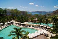 At the luxurious Four Seasons Resort in Costa Rica, rates start at $395 in low season (May 14-July 22 and Aug. 14-Nov. 18), with peak-season rates from $695.