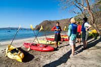 Kayaking is among activities for outdoor enthusiasts visiting the Four Seasons on Peninsula Papagayo.