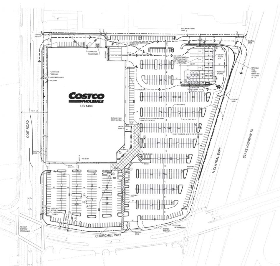 First Look At Dallas First Costco Store On North Central - Map of costco in us